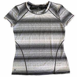 Athleta Short Sleeve Fitness Top Medium T-Shirt